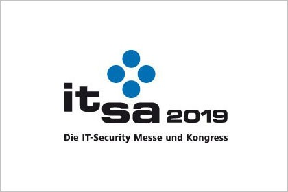 Logo it-sa 2019 - Die IT-Security Messe und Kongress